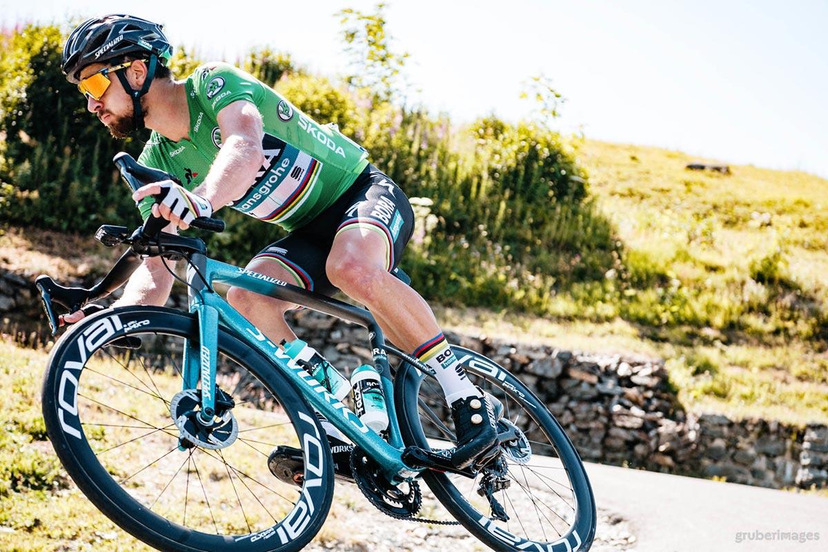 Peter Sagan sulle Alpi al Tour 2018