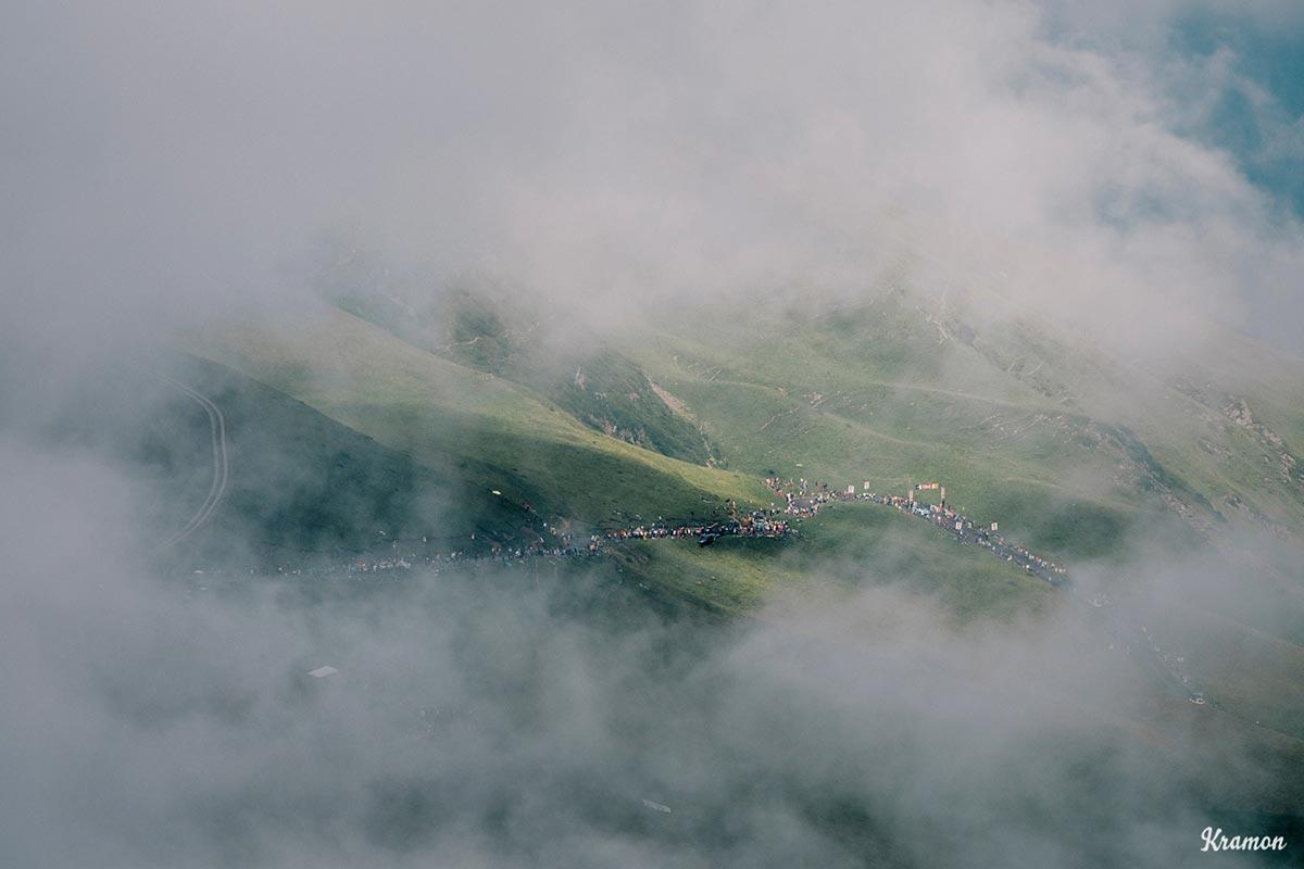 Il Tour 2018 tra le nebbie dei Pirenei