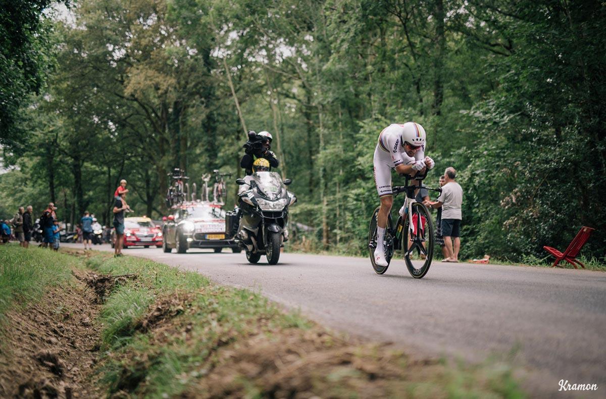 Tom Dumoulin contro il tempo al Tour 2018