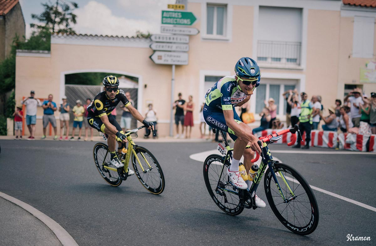 Spuntino al Tour 2018 per Yoann Offredo