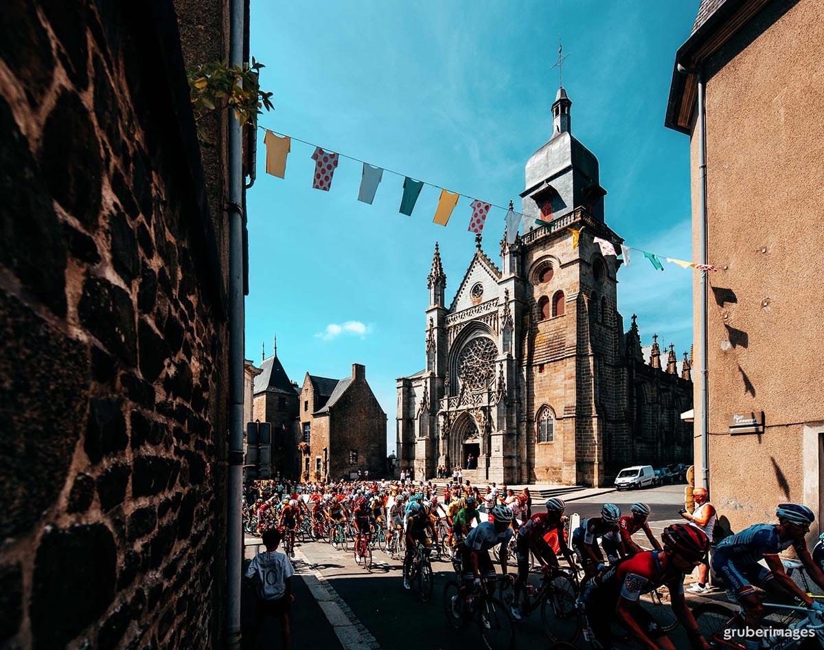 Passaggio del Tour de France 2018
