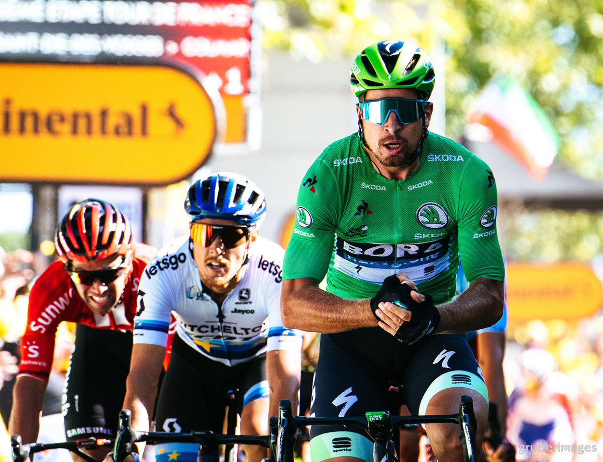 Peter Sagan al Tour de France 2019
