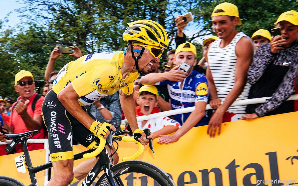 Julian Alaphilippe al Tour de France 2019
