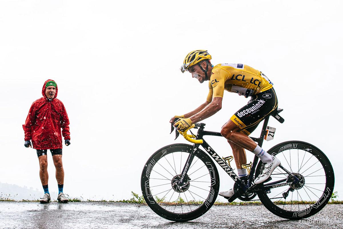 Alaphilippe in Maglia Gialla al Tour 2019