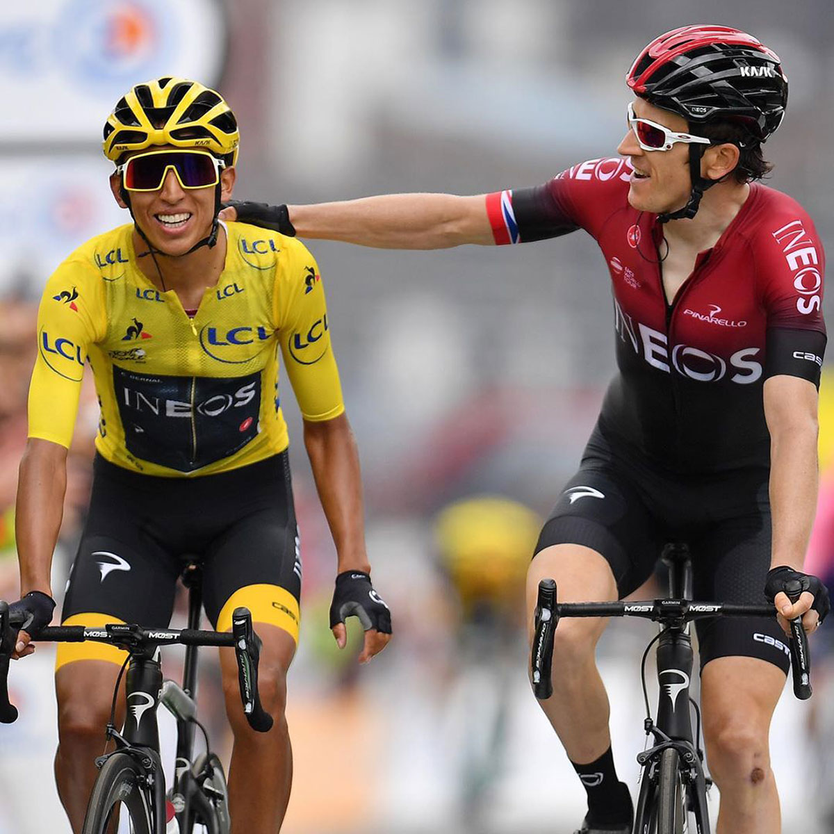 Bernal e Thomas al Tour de France 2019