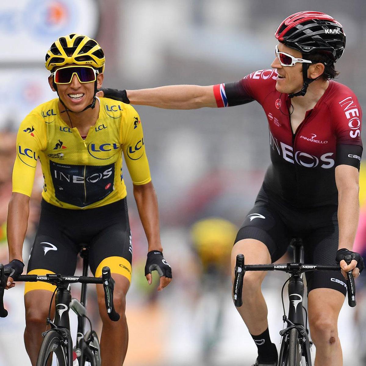 Bernal e Thomas al Tour de France 2019