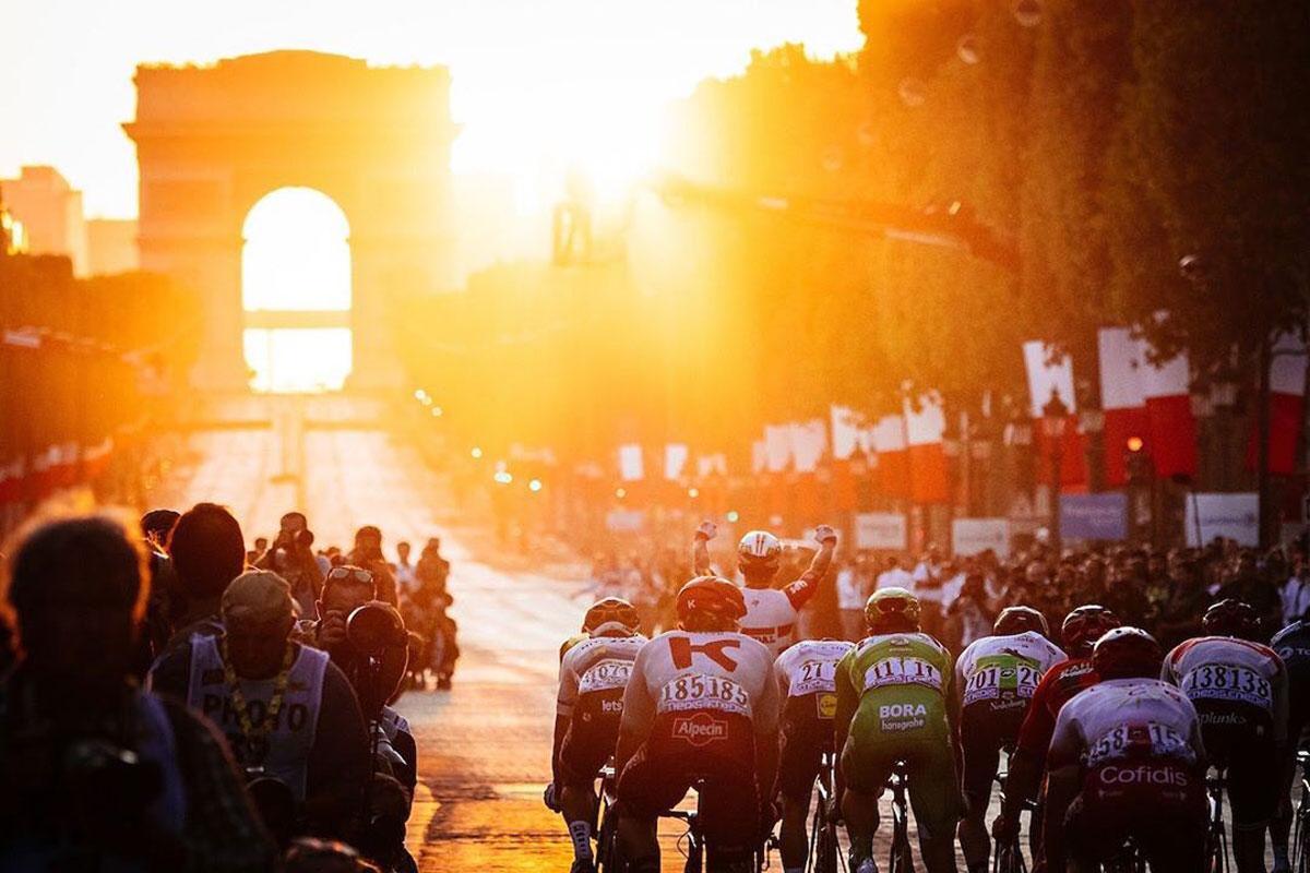 Tramonto sul Tour de France 2019
