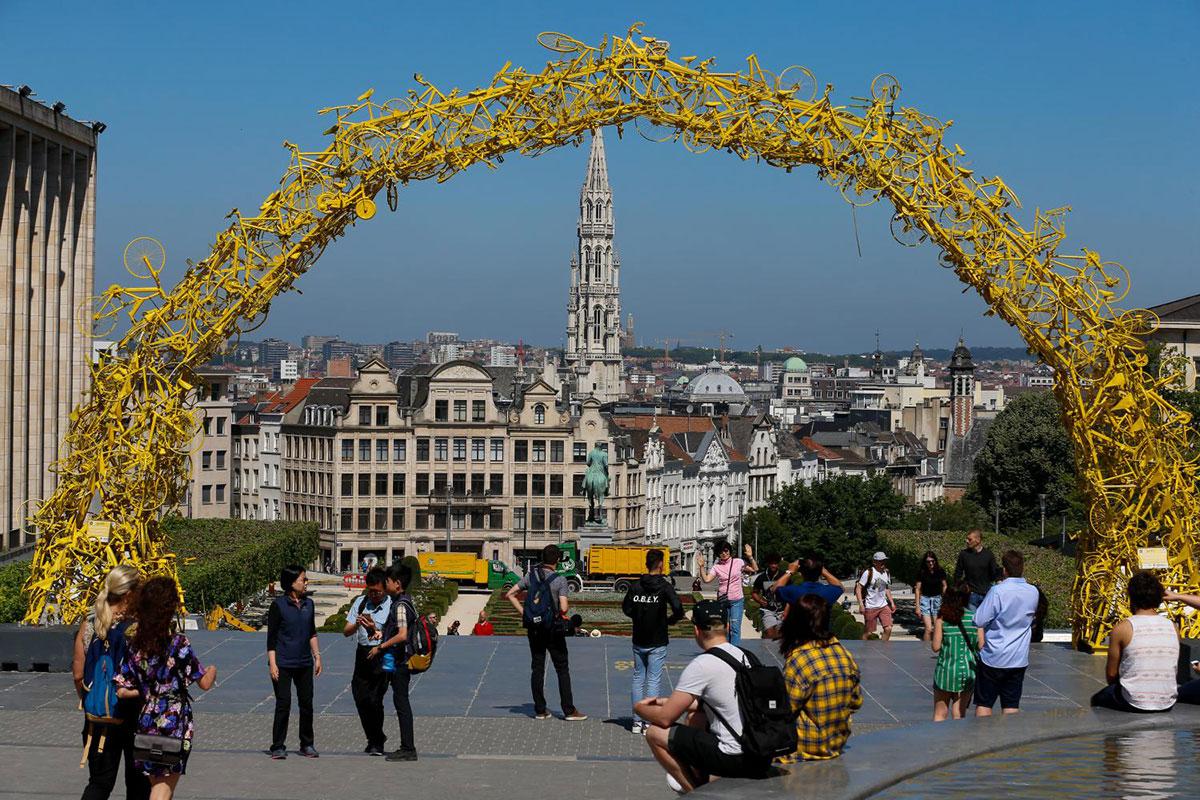 Le gialle bici di Xavier Mineur per il Tour 2019