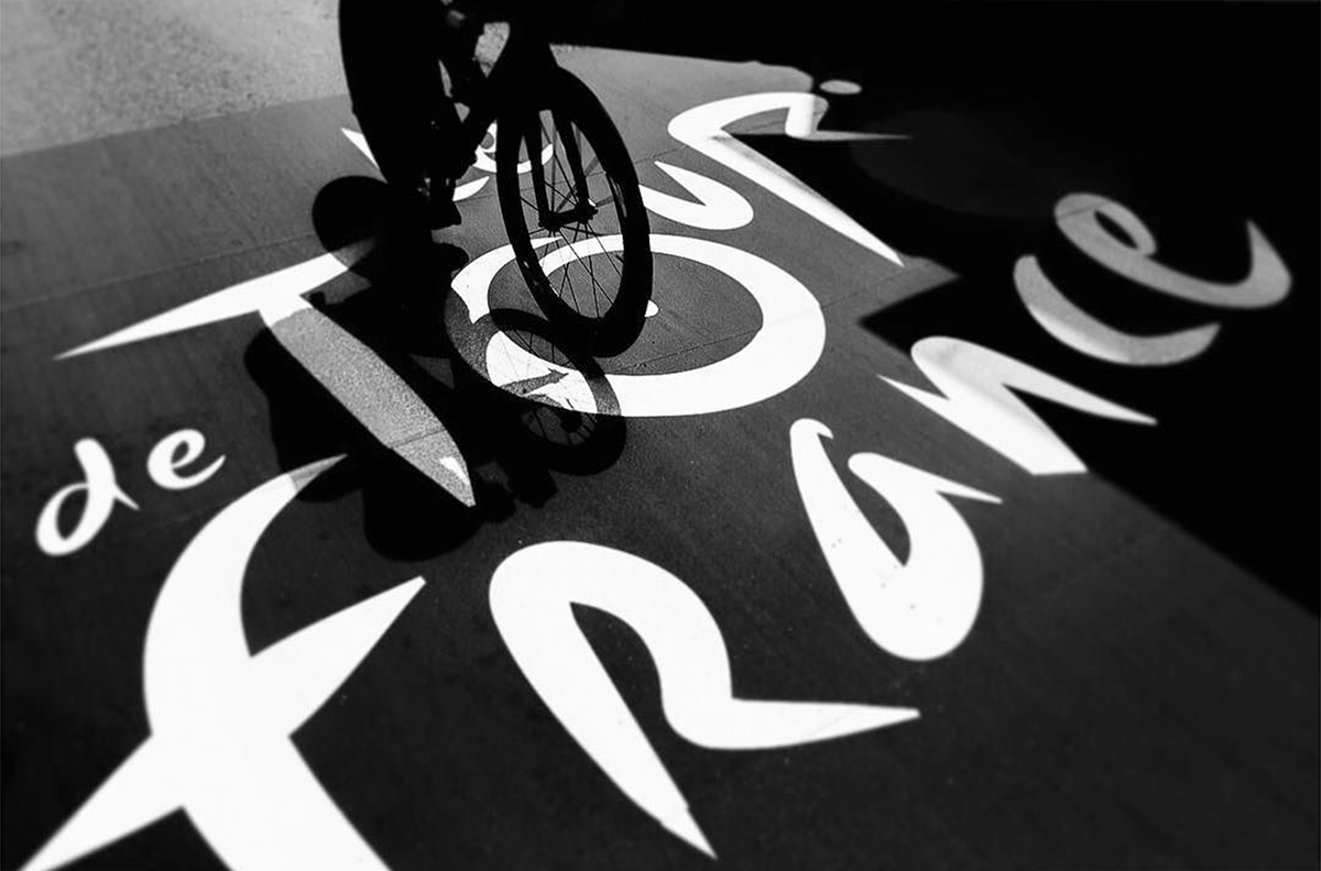 Il Tour de France in bianco e nero