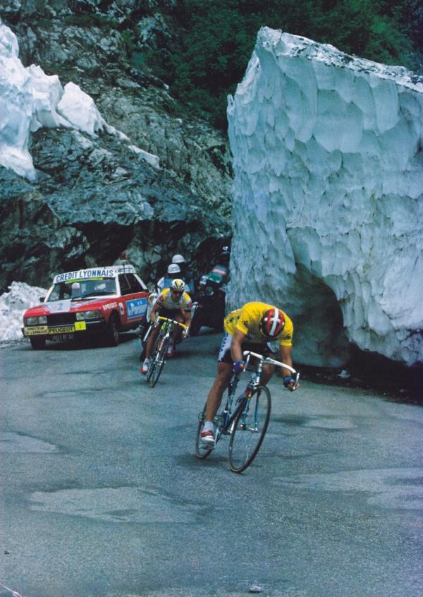 La neve del Tour de France