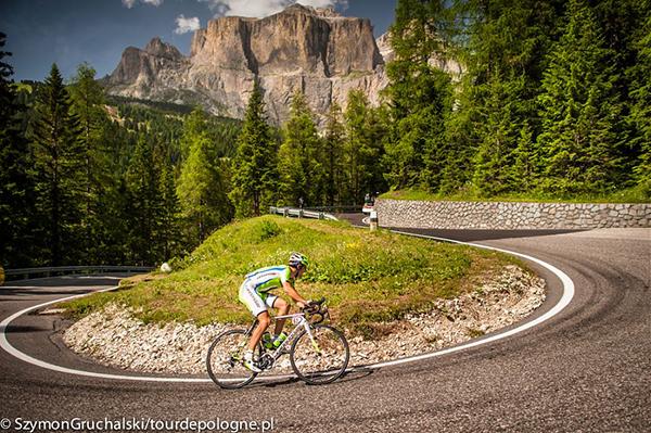 Il Tour de Pologne sulle Dolomiti