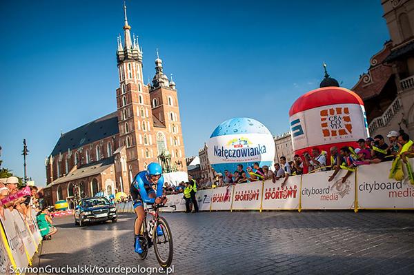 La cronometro di Cracovia al Tour de Pologne 2013