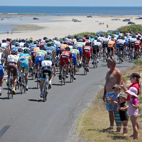 Il passaggio del Tour Down Under