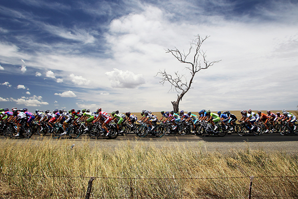 Un passaggio del Tour Down Under