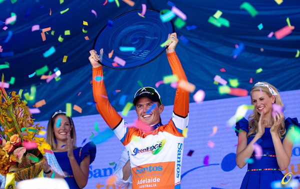 Simon Gerrans vince il Tour Down Under