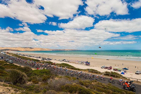 Maslin Beach al Tour Down Under 2013