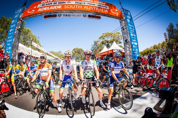 Gerrans, Haig, Hansen, Ulissi al Tour Down Under 2014