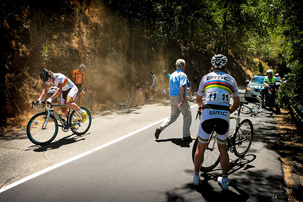 Cadute al Tour Down Under 2013