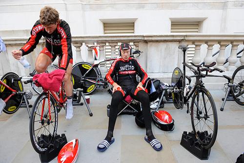 Un momento del Tour of Britain