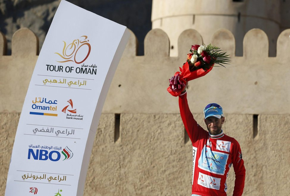 Vincenzo Nibali al Tour of Oman 2016