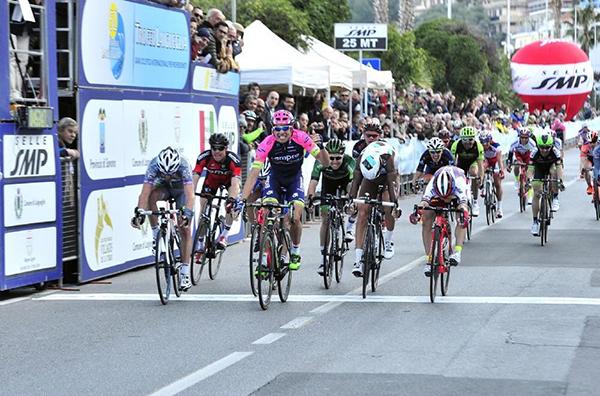 Davide Cimolai al Trofeo Laigueglia 2015
