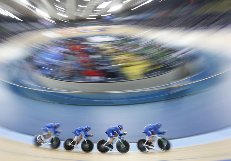 L'Italia all'UCI Track Cycling World Championships 2016