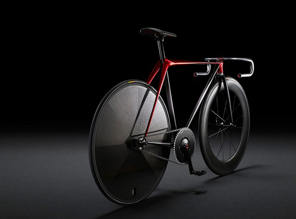 Ultra Minimalist Bicycle Mazda