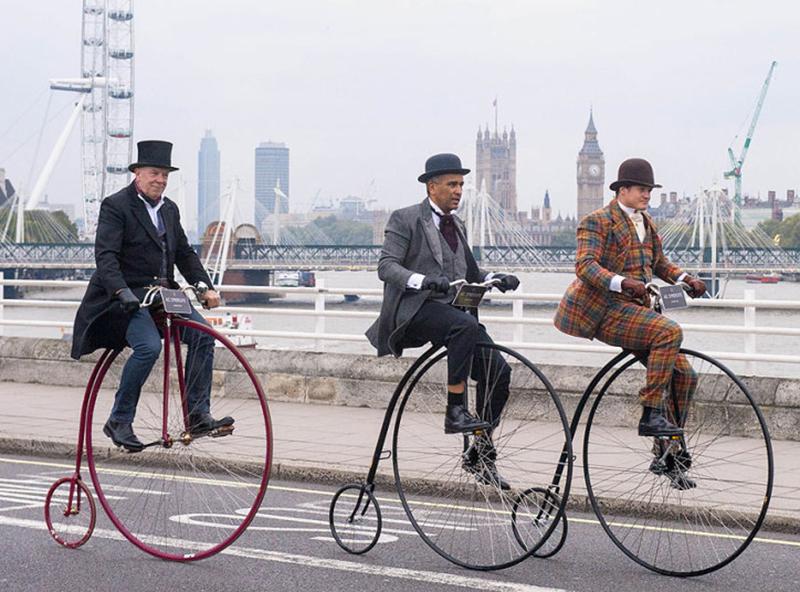 Velocipedi a Londra