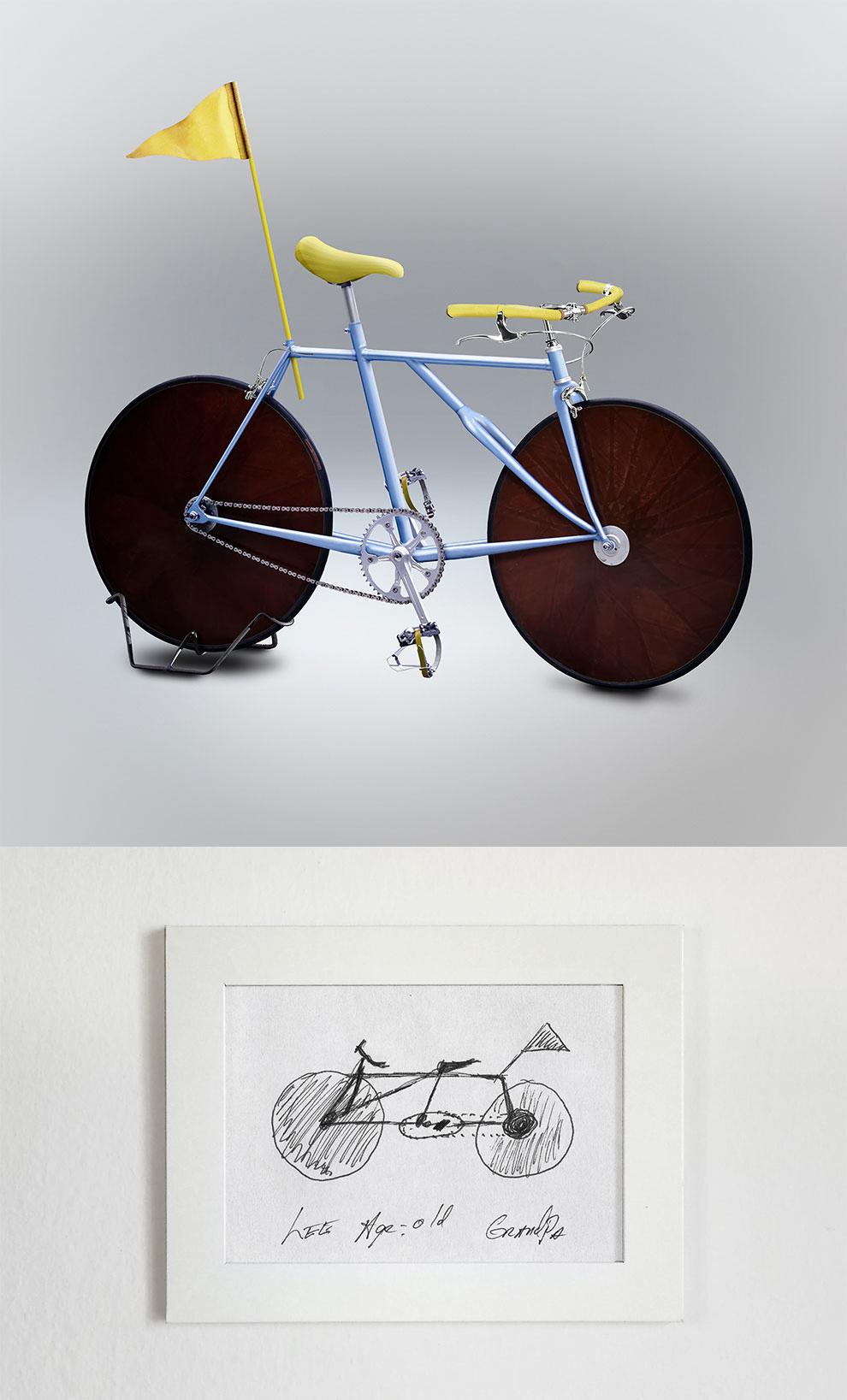 Le bici improbabili di Gianluca Gimini per Velocipedia