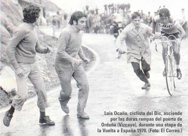 Luis Ocaña alla Vuelta 1970