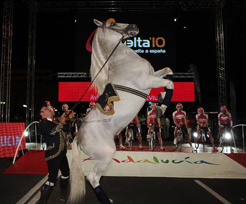 Presentazione della Vuelta 2010