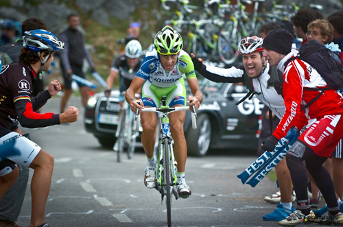 Nibali alla Vuelta 2011