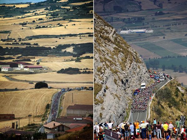 Paesaggi da Vuelta 2012