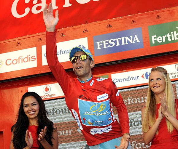 Vincenzo Nibali alla Vuelta 2013