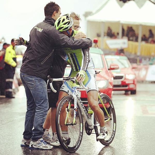 Daniele Ratto alla Vuelta 2013
