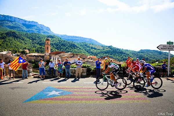 Paesaggi catalani alla Vuelta 2013