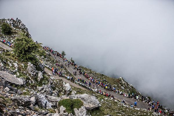 L'Angliru alla Vuelta 2013