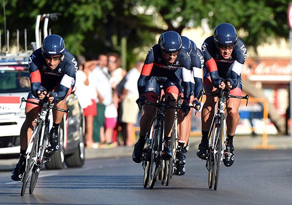 La cronometro a squadre alla Vuelta 2014