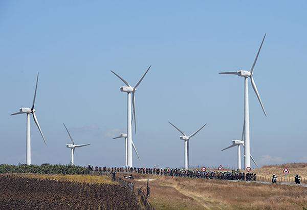Pedali e pale alla Vuelta 2014