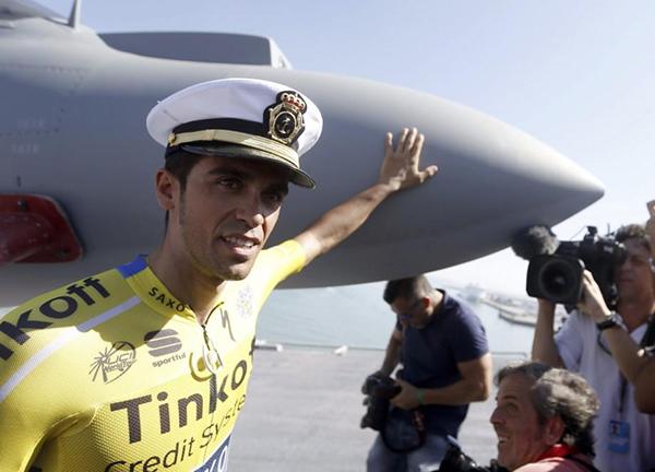 Contador alla Vuelta 2014