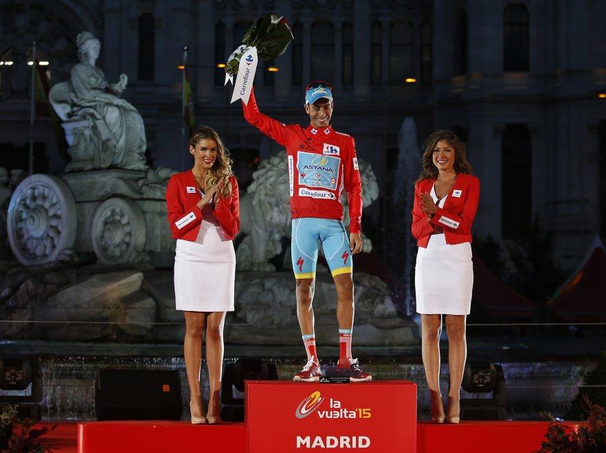 Fabio Aru vincitore della Vuelta 2015