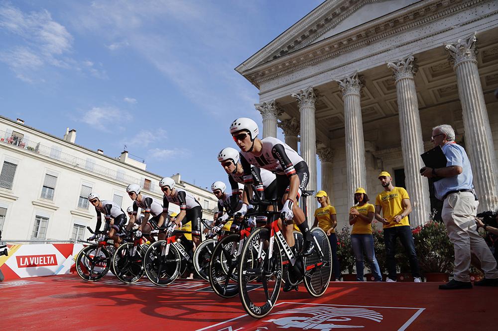 La partenza della Vuelta 2017 da Nimes