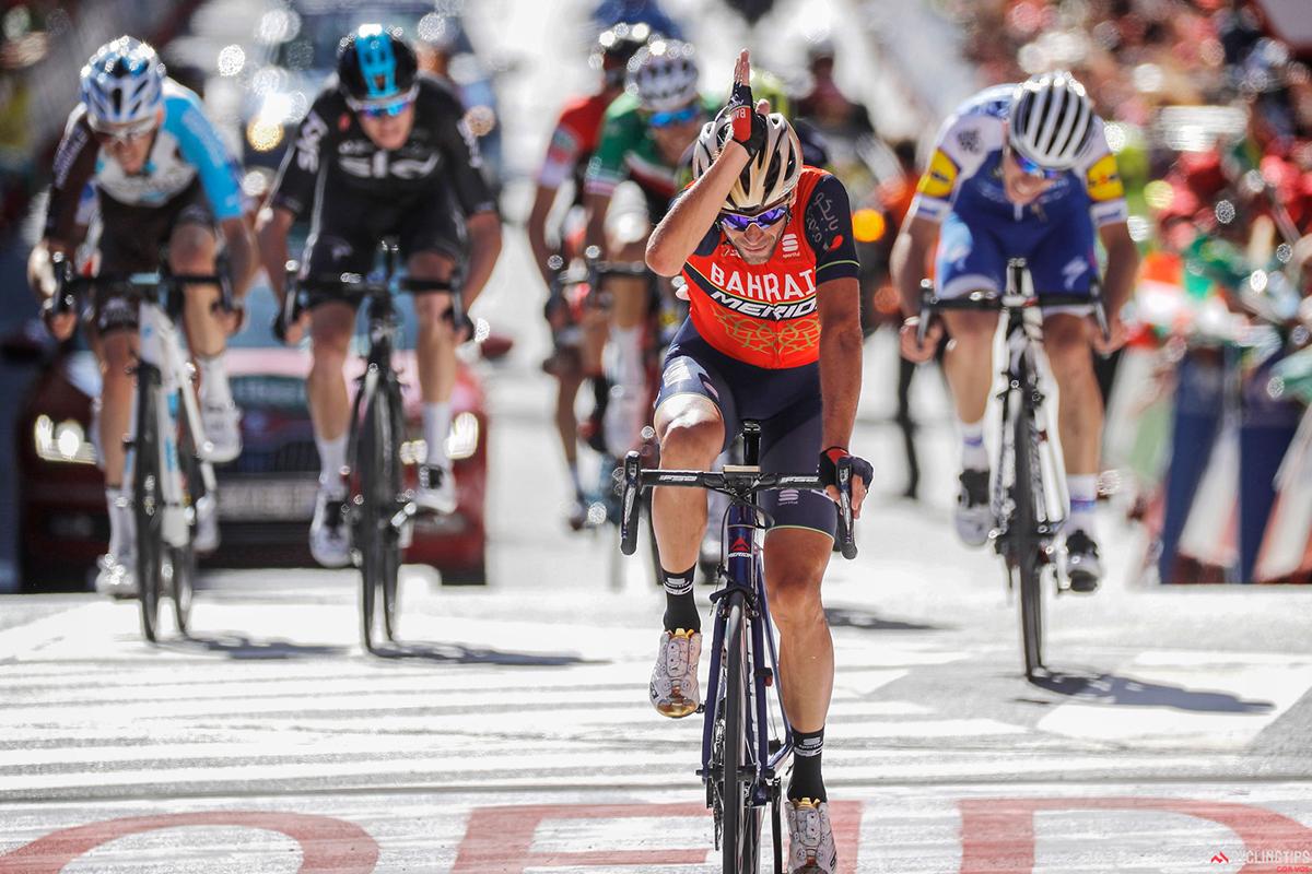 Vincenzo Nibali alla Vuelta 2017