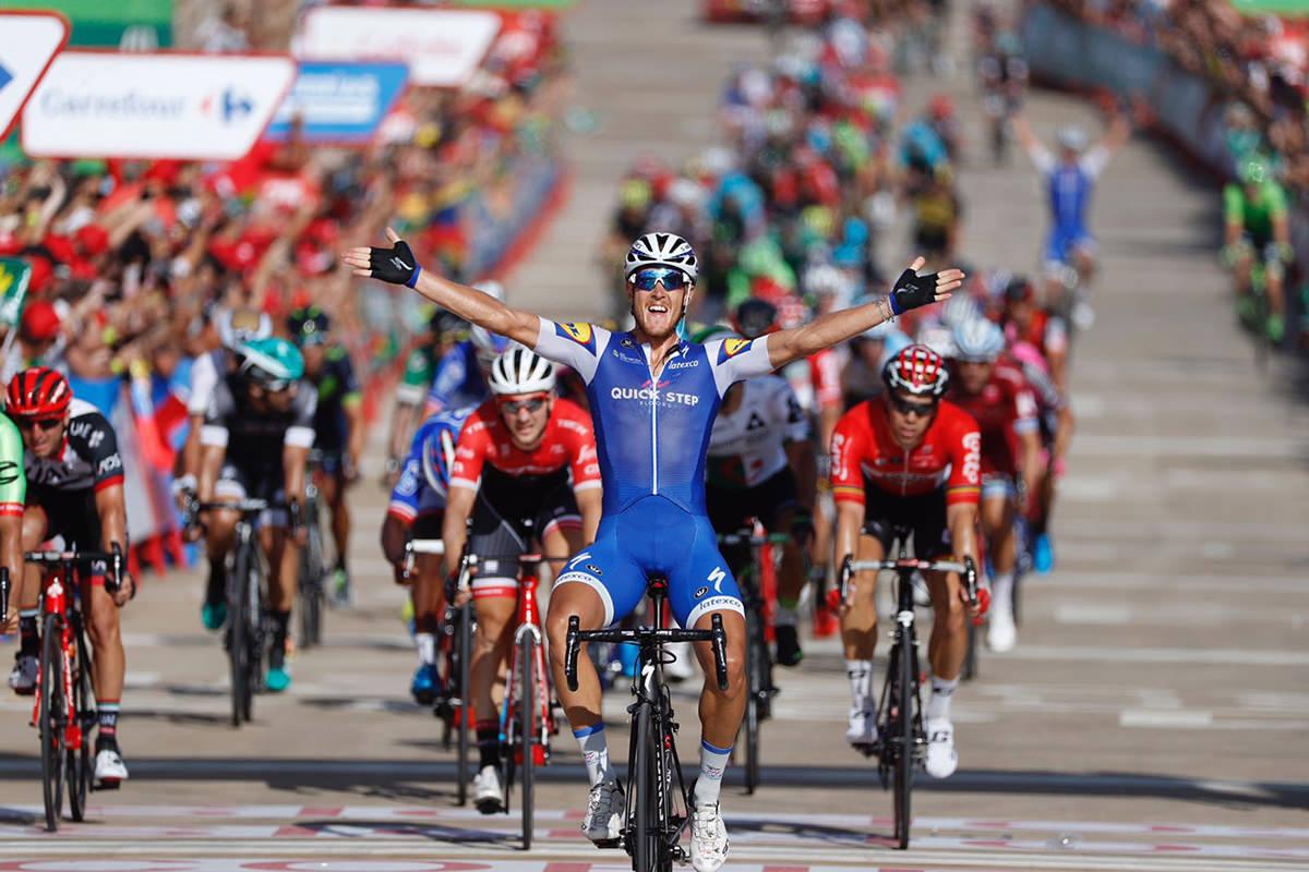 Trentin vince alla Vuelta 2017