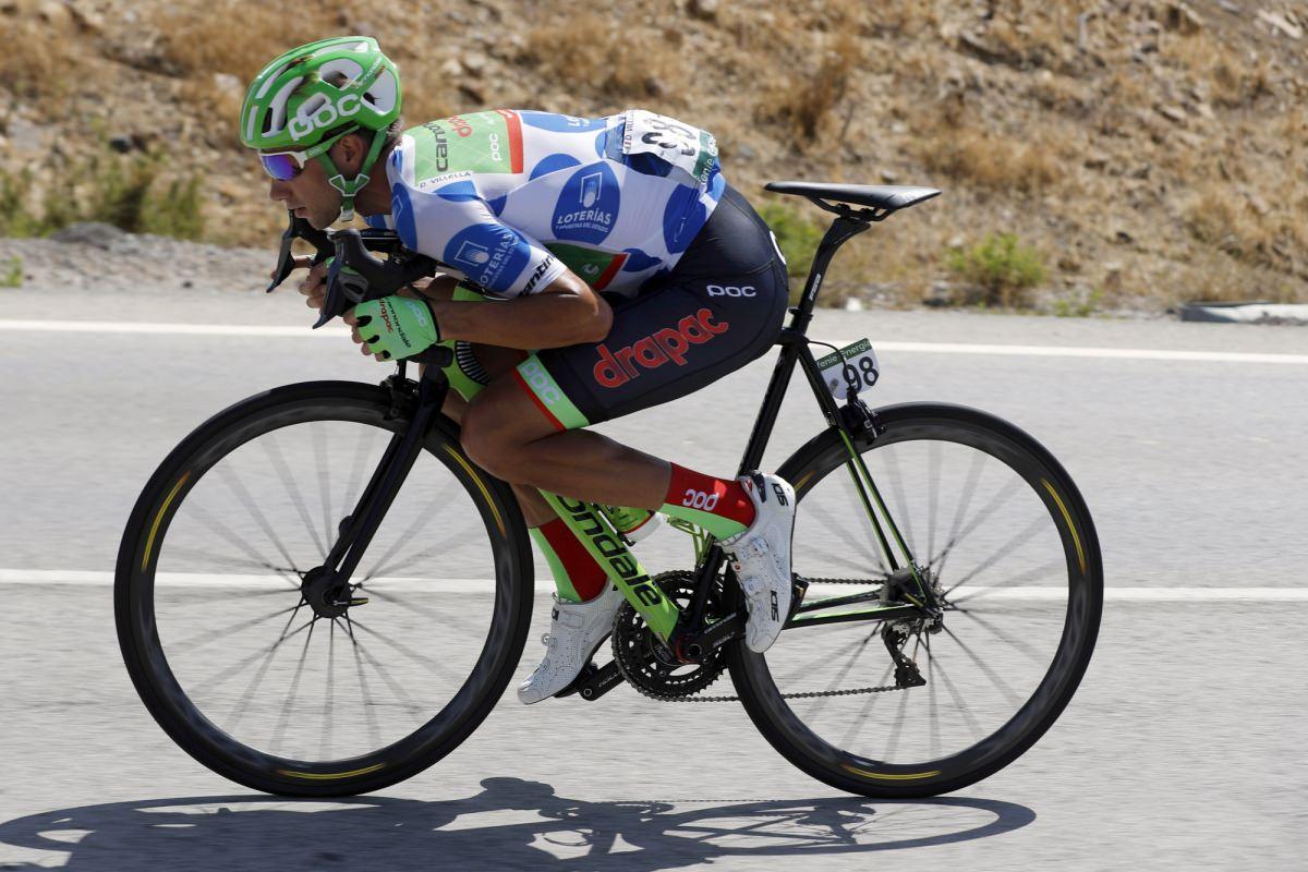 Davide Villella alla Vuelta 2017