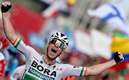 Sam Bennett alla Vuelta 2019