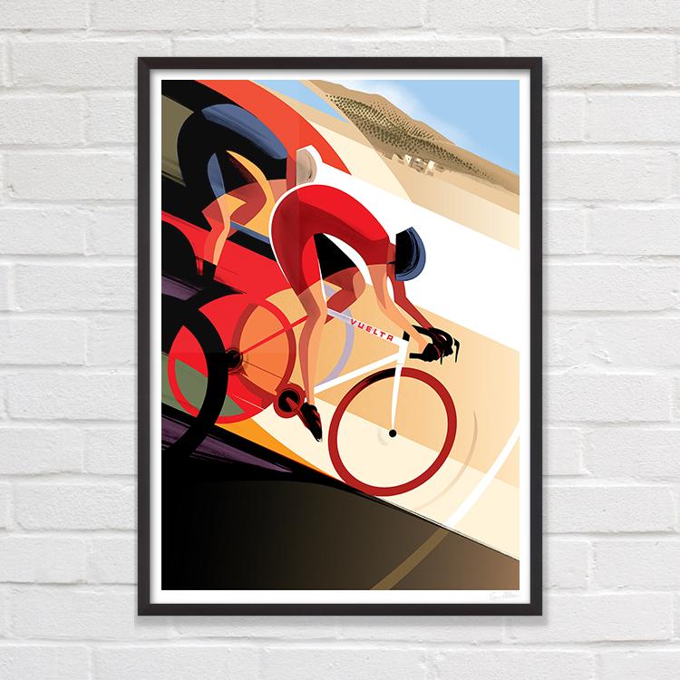 Poster su La Vuelta di Guy Allen