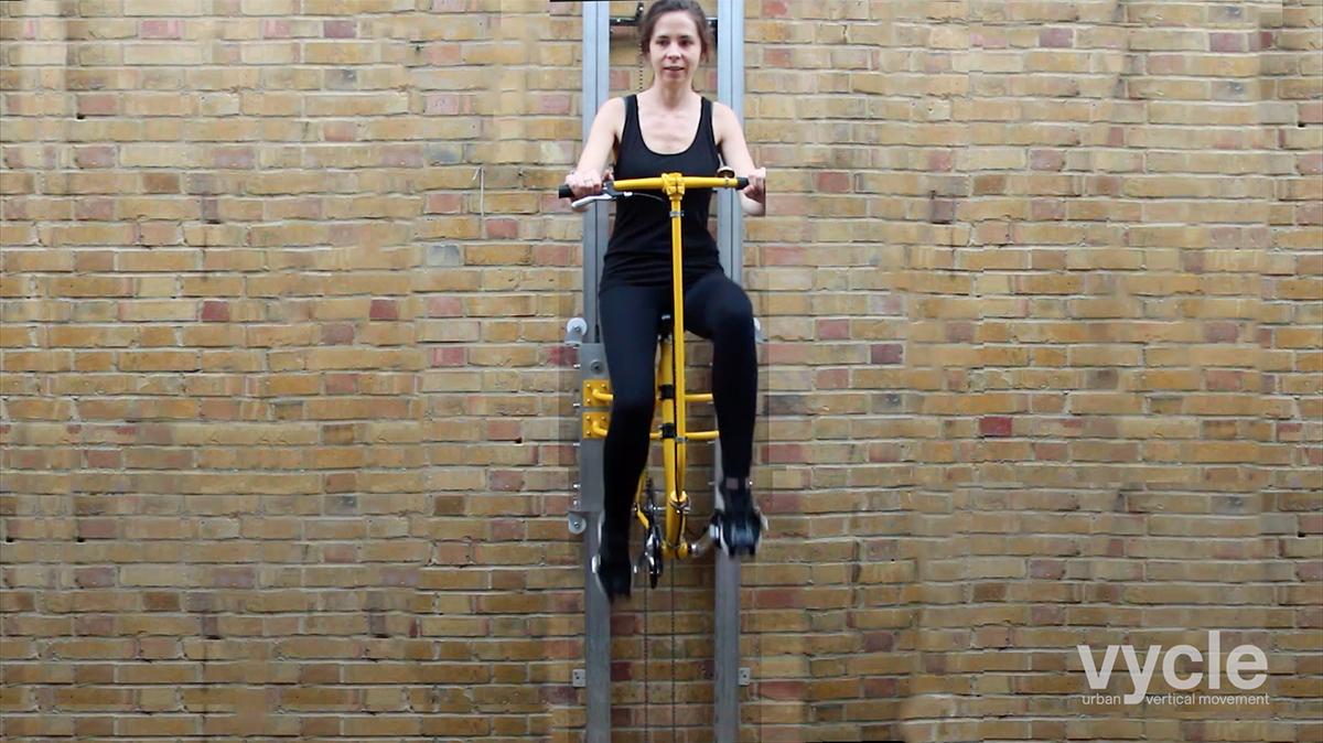 Vycle, la bici ascensore