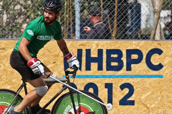 Il campionato mondiale di bike polo 2012 a Ginevra