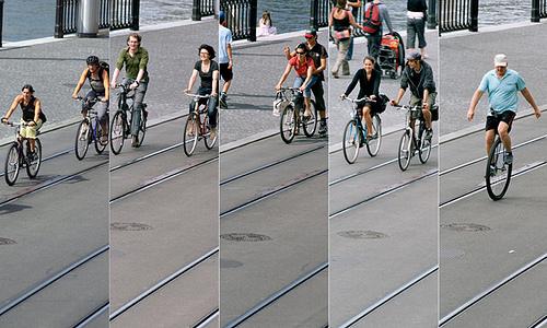 Ciclisti a Zurigo